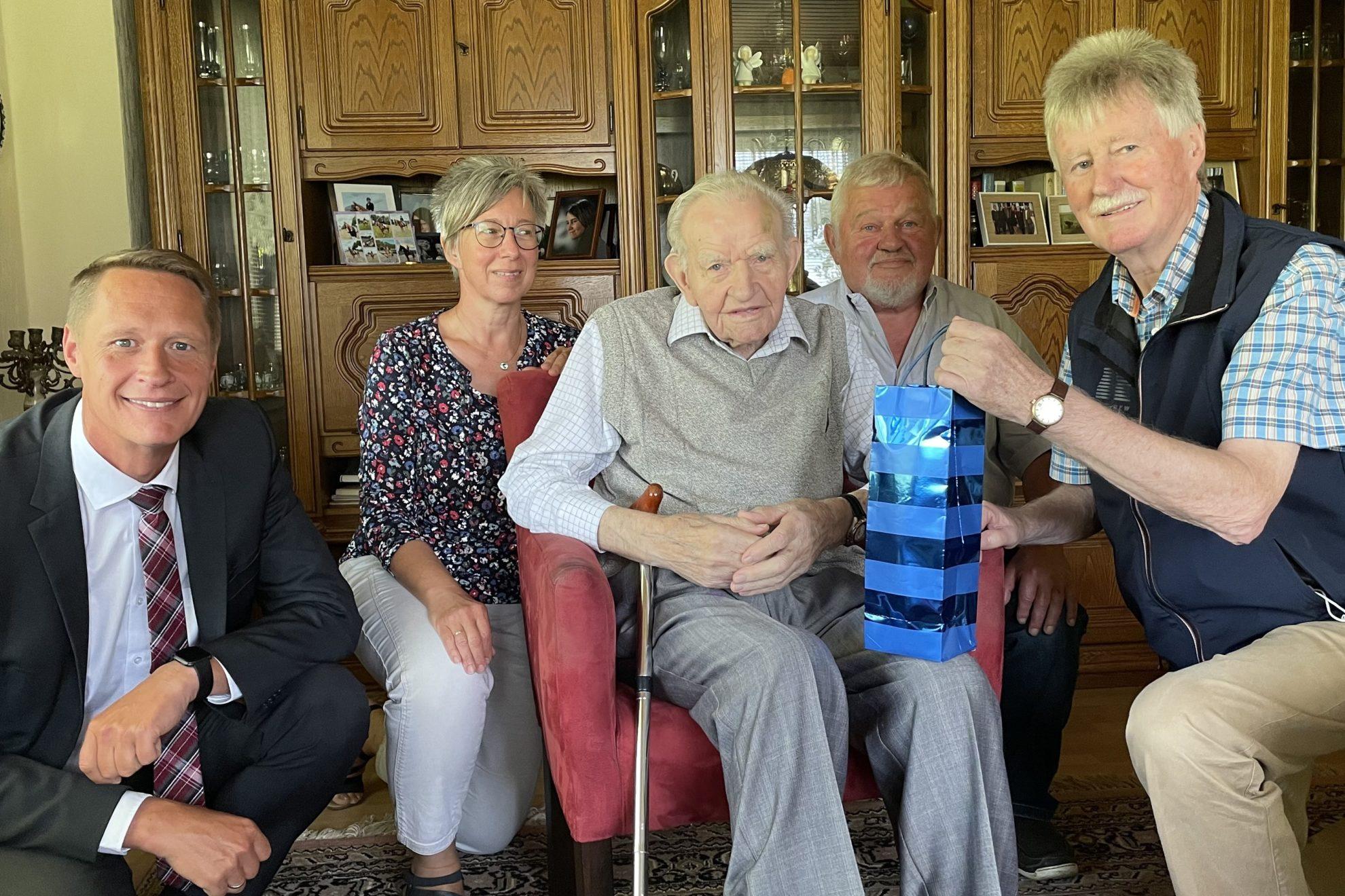 65-jährige Mitgliedschaft in der SPD